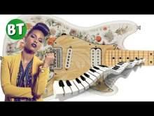 Embedded thumbnail for Alicia Keys Soul style Guitar Backing Track Jam in C - 60bpm