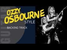 Embedded thumbnail for OZZY OSBOURNE Style Rock Backing Track for Jam Guitar