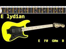 Embedded thumbnail for Emotional Rock Ballad Guitar Backing Track - E lydian | 96bpm