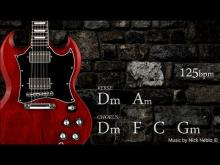 Embedded thumbnail for Rock Guitar Backing Track Jam D minor