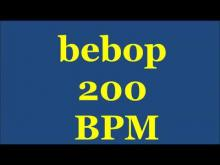 Embedded thumbnail for Drum Loops for Practice Bebop 200bpm