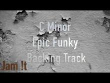 Embedded thumbnail for C Minor (dorian) Epic Funky Backing Track