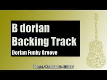 Embedded thumbnail for Dorian Funky Groove | Guitar Backing Track Jam in B dorian mode with Chords | B dorian Scale