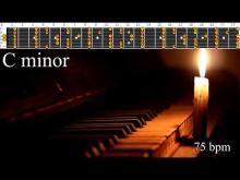 Embedded thumbnail for Slow Sorrowful And Mournful Ballad Piano Backing Track - C Minor