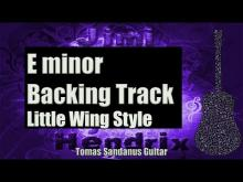 Embedded thumbnail for Little Wing Style Backing Track in E minor - Jimi Hendrix Classic Rock Guitar Backtrack
