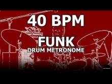 Embedded thumbnail for Funk | Drum Metronome Loop | 40 BPM