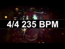 Embedded thumbnail for Drums Metronome 235 BPM