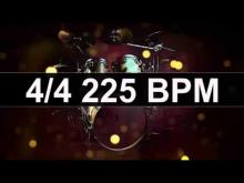 Embedded thumbnail for Drums Metronome 225 BPM