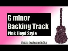 Embedded thumbnail for Pink Floyd Style Backing Track in G minor | Progressive Rock Guitar Backtrack | Brick Wall Solo