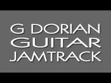 Embedded thumbnail for G DORIAN Guitar Jamtrack