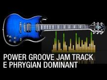 Embedded thumbnail for E Phrygian Dominant Power Groove Guitar Backing Track