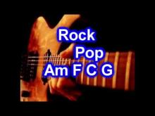 Embedded thumbnail for Backing Track - Rock Pop - C major