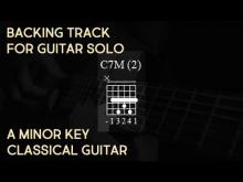 Embedded thumbnail for Backing Track Flamenco Spanish Rumba with Chords