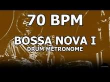 Embedded thumbnail for Bossa Nova I | Drum Metronome Loop | 70 BPM