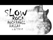 Embedded thumbnail for slow rock, rock & roll ballad backing track in A/F#m