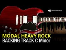 Embedded thumbnail for Modal Rock Backing Track in C Minor F Dorian