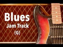 Embedded thumbnail for Blues Shuffle Backing Track (G)