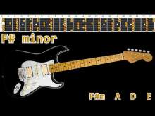 Embedded thumbnail for Majestic Rock Ballad Guitar Backing Track - F#minor   65bpm