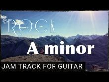 Embedded thumbnail for Rock Backing Track for Guitar in A minor (Am)