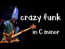 Embedded thumbnail for Crazy Funk Backing Track Jam in Cm Dorian