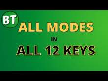 Embedded thumbnail for All Modes in All 12 Keys Backing track - 90bpm - Modes workout