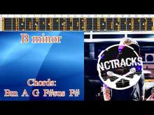 Embedded thumbnail for Sad Sentimental Ballad Style Guitar Backing Track - B Minor  | 75 bpm