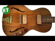 Embedded thumbnail for Groovy Blues With Only One Clean Guitar Backing Track Jam in Em - 90bpm