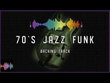 Embedded thumbnail for 70s Jazz Funk Backing Track in F Dorian Blues