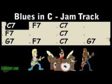 Embedded thumbnail for Slow Blues Jam Track in C Major