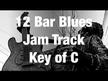 Embedded thumbnail for Guitar Jam Track: C 12 Bar Funky Blues with Scale Choices