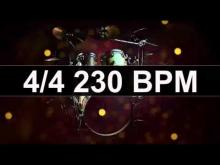 Embedded thumbnail for Drums Metronome 230 BPM