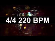 Embedded thumbnail for Drums Metronome 220 BPM