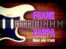 Embedded thumbnail for A Minor Blues Jam Backing Track - Frank Zappa Style