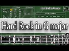 Embedded thumbnail for Backing Track - Hard Rock in G major