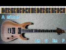 Embedded thumbnail for Rock Ballad Style Guitar Backing Track - A minor | 75 bpm