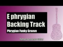 Embedded thumbnail for Phrygian Funky Groove | Guitar Backing Track Jam in E phrygian mode with Chords | E phrygian Scale
