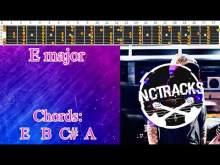 Embedded thumbnail for Happy Joyful Rock Ballad Style Guitar Backing Track  - E Major | 80 bpm