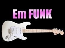 Embedded thumbnail for Em Funk Backing Track Guitar Jam in E minor