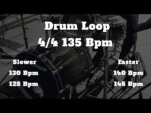 Embedded thumbnail for 135 Bpm - Simple Straight - Drum Loop