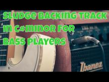 Embedded thumbnail for Sludge backing track