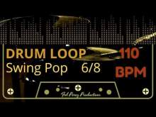 Embedded thumbnail for Swing Pop in 6/8 - Free Drum Loop 110 BPM (Backing Track Bateria)