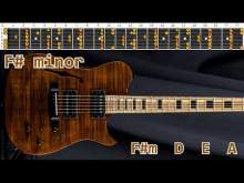 Embedded thumbnail for Amazing Climatic Pop Rock Guitar Backing Track - F# minor | 105 bpm