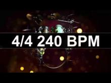Embedded thumbnail for Drums Metronome 240 BPM