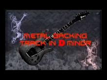 Embedded thumbnail for Nice Metal Backing Track in D Minor