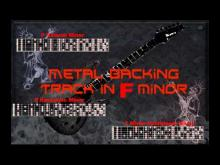 Embedded thumbnail for Nice Metal Backing Track in F minor