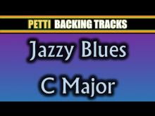 Embedded thumbnail for C Major Jazz Blues Guitar Backing Track
