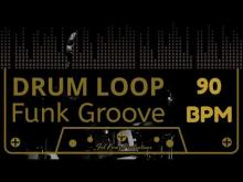 Embedded thumbnail for Funk Groove - Free Drum Loop 90 BPM (Backing Track Bateria)