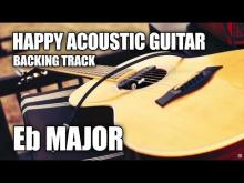 Embedded thumbnail for Happy Acoustic Guitar Backing Track In Eb Major