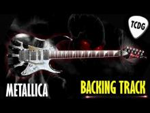 Embedded thumbnail for Metallica Style Guitar Backing Track | Em Metal BackTrack TCDG