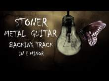 Embedded thumbnail for Stoner Metal Guitar Backing Track In E minor